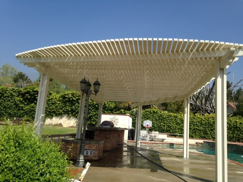 Aluminum Patio Covers Backyard Pictures